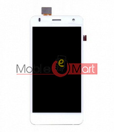 Lcd Display With Touch Screen Digitizer Panel Combo Folder Glass For Lava Iris X1 Grand