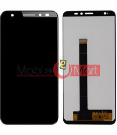 Lcd Display With Touch Screen Digitizer Panel Combo Folder Glass For Lava Z61