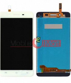 Lcd Display With Touch Screen Digitizer Panel Combo Folder Glass For Vivo V3 (Black)