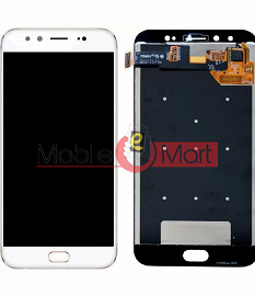 Lcd Display With Touch Screen Digitizer Panel Combo Folder Glass For Vivo V5 Plus (Black)