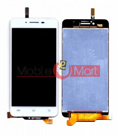 Lcd Display With Touch Screen Digitizer Panel Combo Folder Glass For Vivo V1 (Black)