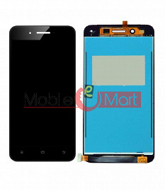 Lcd Display With Touch Screen Digitizer Panel Combo Folder Glass For Vivo Y53 (Black)