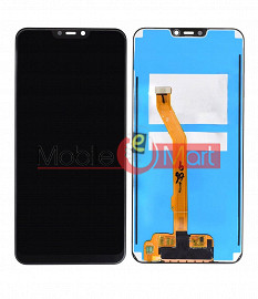 Lcd Display With Touch Screen Digitizer Panel Combo Folder Glass For Vivo Y81 - Black
