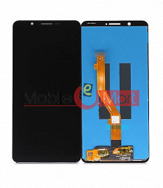 Lcd Display With Touch Screen Digitizer Panel Combo Folder Glass For Vivo Y71 - Black
