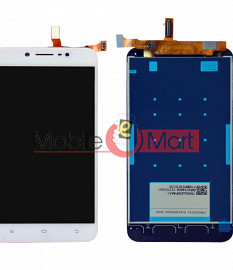 Lcd Display With Touch Screen Digitizer Panel Combo Folder Glass For Vivo Y66 (Black)