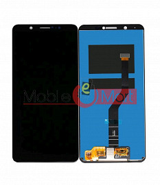 Lcd Display With Touch Screen Digitizer Panel Combo Folder Glass For VIVO V7 Plus (Black)
