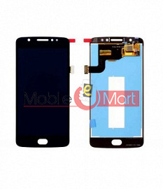Lcd Display With Touch Screen Digitizer Panel Combo Folder Glass For Motorola Moto E4 (Black)