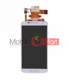 Lcd Display With Touch Screen Digitizer Panel Combo Folder Glass For Motorola Moto X Play (Black)