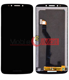 Lcd Display With Touch Screen Digitizer Panel Combo Folder Glass For Motorola Moto E5(Black)