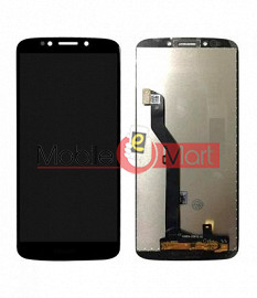 Lcd Display With Touch Screen Digitizer Panel Combo Folder Glass For Motorola Moto G6 Play (Black)