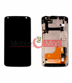 Lcd Display With Touch Screen Digitizer Panel Combo Folder Glass For Motorola Moto X Force (Black)