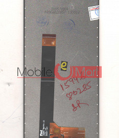 Lcd Display With Touch Screen Digitizer Panel Combo Folder Glass For Mobiistar X1 Notch (Black)