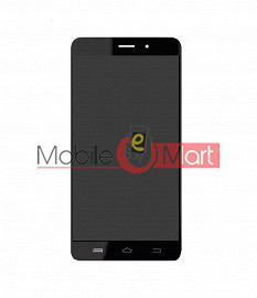 Lcd Display With Touch Screen Digitizer Panel Combo Folder Glass For Comio C1 (Black)