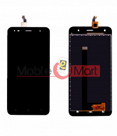 Lcd Display With Touch Screen Digitizer Panel Combo Folder Glass For Comio S1 Lite (Black)