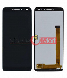 Lcd Display With Touch Screen Digitizer Panel Combo Folder Glass For Comio X1 Note (Black)