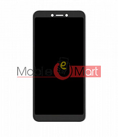 Lcd Display With Touch Screen Digitizer Panel Combo Folder Glass For Itel A44 Air (Black)