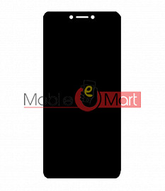 Lcd Display With Touch Screen Digitizer Panel Combo Folder Glass For Itel A46 (Black)