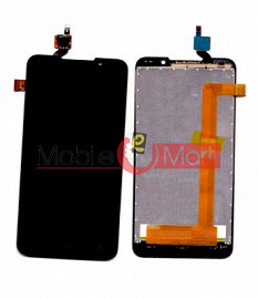 Lcd Display With Touch Screen Digitizer Panel Combo Folder Glass For HTC Desire 516 dual sim (Black)