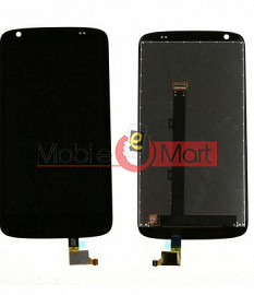 Lcd Display With Touch Screen Digitizer Panel Combo Folder Glass For  HTC Desire 526 (Black)