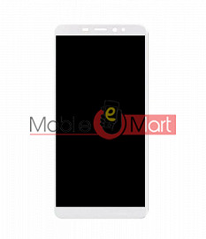 Lcd Display With Touch Screen Digitizer Panel Combo Folder Glass For Itel S42 (Black)
