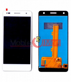 Lcd Display With Touch Screen Digitizer Panel Combo Folder Glass For Itel it1518 (Black)