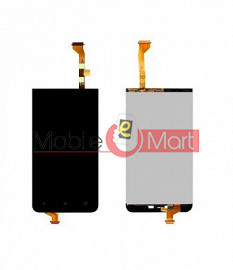 Lcd Display With Touch Screen Digitizer Panel Combo Folder Glass For HTC Desire 501 (Black)