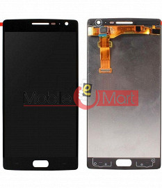 Lcd Display With Touch Screen Digitizer Panel Combo Folder Glass For OnePlus 2 (Black)