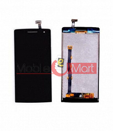 Lcd Display With Touch Screen Digitizer Panel Combo Folder Glass For OPPO Find 5 Mini R827 (Black)