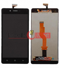 Lcd Display With Touch Screen Digitizer Panel Combo Folder Glass For Oppo A33 (Black)