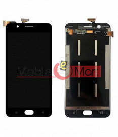 Lcd Display With Touch Screen Digitizer Panel Combo Folder Glass For Oppo F1s (Black)