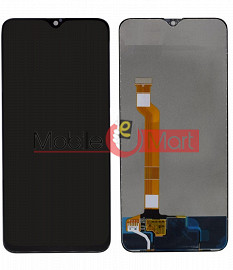Lcd Display With Touch Screen Digitizer Panel Combo Folder Glass For Realme U1 (Black)
