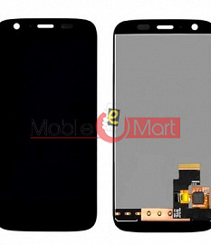 Lcd Display With Touch Screen Digitizer Panel Combo Folder Glass For Motorola Moto G (Black)