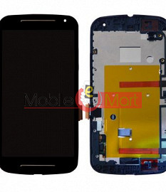Lcd Display With Touch Screen Digitizer Panel Combo Folder Glass For Motorola Moto G2 (Black)