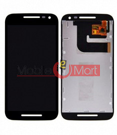 Lcd Display With Touch Screen Digitizer Panel Combo Folder Glass For Motorala Moto G3 3rd Gen (Black)