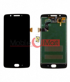 Lcd Display With Touch Screen Digitizer Panel Combo Folder Glass For  Motorola Moto G5 (Black)