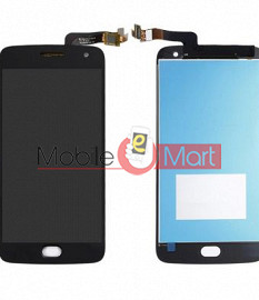 Lcd Display With Touch Screen Digitizer Panel Combo Folder Glass For Motorola Moto G5 Plus (Black)