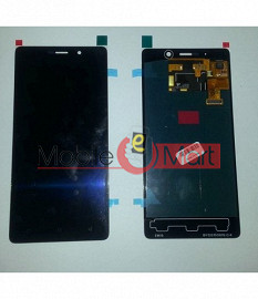 Lcd Display With Touch Screen Digitizer Panel Combo Folder Glass For Gionee Marathon M4 (Black)