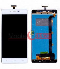 Lcd Display With Touch Screen Digitizer Panel Combo Folder Glass For Gionee Marathon M3 (Black)