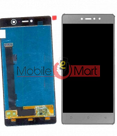 Lcd Display With Touch Screen Digitizer Panel Combo Folder Glass For Gionee S6S (Black)