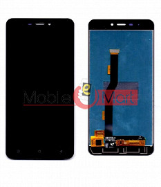 Lcd Display With Touch Screen Digitizer Panel Combo Folder Glass For Gionee P7 Max (Black)