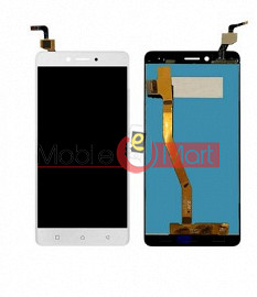 Lcd Display With Touch Screen Digitizer Panel Combo Folder Glass For Lenovo K6 Note (black)