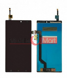 Lcd Display With Touch Screen Digitizer Panel Combo Folder Glass For Lenovo K4 Note (Black)
