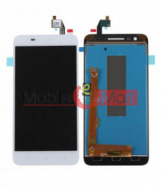 Lcd Display With Touch Screen Digitizer Panel Combo Folder Glass For  Lenovo Vibe C2 (Black)
