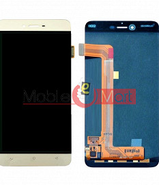 Lcd Display With Touch Screen Digitizer Panel Combo Folder Glass For Gionee S6 (Black)
