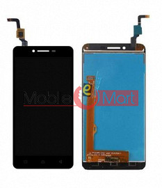 Lcd Display With Touch Screen Digitizer Panel Combo Folder Glass For Lenovo Vibe K5 A6020a40 (Black)