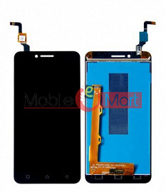 Lcd Display With Touch Screen Digitizer Panel Combo Folder Glass For Lenovo Vibe K5 Plus (Black)