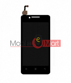 Lcd Display With Touch Screen Digitizer Panel Combo Folder Glass For Lenovo A319 (Black)
