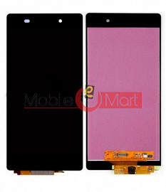 Lcd Display With Touch Screen Digitizer Panel Combo Folder Glass For Sony Xperia Z2 (Black)