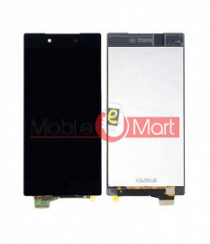 Lcd Display With Touch Screen Digitizer Panel Combo Folder Glass For Sony Xperia Z5 (Black)