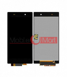 Lcd Display With Touch Screen Digitizer Panel Combo Folder Glass For Sony Xperia Z1S (Black)